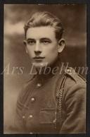 Photo Ancien / Man / Homme / Militaire / Soldier / Soldat / Unused / 2 Scans / Handsome / Gay Interest - Guerre, Militaire