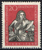 DDR - 1959 - GEORG FRIEDRICH HANDEL - MUSICISTA - MNH - Neufs