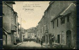N° 139 - LA CORREZE ILLUSTREE - BEAULIEU SUR DORDOGNE - RUE NATIONALE - COMMERCE TABAC A DROITE - ANIMEE. - France