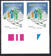 Italia 2020; Biathlon, Campionato Del Mondo; Coppia Di Bordo Inferiore - 2011-...: Ungebraucht