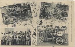 X123046 FERNANDO POO GUINEA ESPAÑOLA DESPUES CAZA ANTILOPAS ARDILLAS Y PUERCOS ESPINES, LIMPIANDO CACAO CAMION DE BANAPE - Guinée Equatoriale