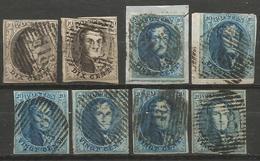 Belgique - Médaillons - Oblitérations P118 TIRLEMONT - Postmark Collection