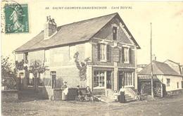 Saint-Georges Gravenchon - Café Duval - France