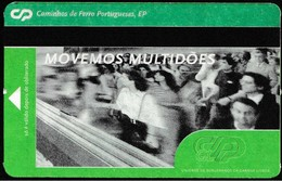 Portugal, PASSE - Portuguese Railwais/ Caminhos De Ferro Portugueses - Unidade De Suburbanos Da Grande Lisboa - Tramways