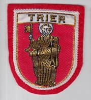 Ecusson Tissu - Allemagne - Trier - Trèves - Blason - Armoiries - Héraldique - Ecussons Tissu