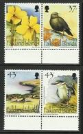 FALKLAND ISLANDS 2001 CARCASS IS. BIRDS ,FLOWER... SET MNH - Falkland