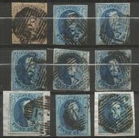 Belgique - Médaillons - Oblitérations P122 TURNHOUT - Postmark Collection