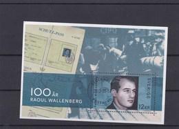 Suède BF ? O 2012 Raoul Wallenberg - Blocks & Kleinbögen