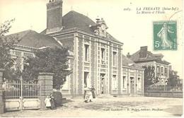 La Frenaye - La Mairie Et L'école - France
