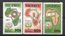Nigeria  N° 570/72 YVERT NEUF * - Nigeria (1961-...)