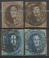 Belgique - Médaillons - Oblitérations P126 VRTON - Postmark Collection