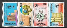 Nigeria  N° 541/44 YVERT NEUF * - Nigeria (1961-...)