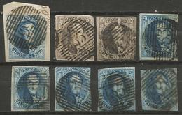 Belgique - Médaillons - Oblitérations P133 YPRES - Postmark Collection