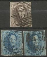Belgique - Médaillons - Oblitérations P134 ZELE - Postmark Collection