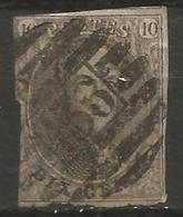 Belgique - Médaillons - Oblitérations P136 MARIEMBOURG - Postmark Collection