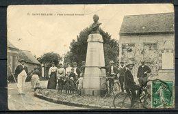 N°11 - SAINT MELAINE - PLACE ARMAND BROUSSE - TRES BELLE ANIMATION - EN L'ETAT. - Autres Communes