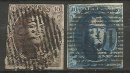 Belgique - Médaillons - Oblitérations P169 TEMPLEUVE - Postmark Collection