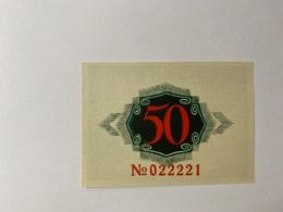 Allemagne Notgeld Namslav 50 Pfennig - [ 3] 1918-1933 : République De Weimar