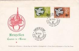 Enveloppe FDC 1er Jour D'émission 1193 1194 Anderlecht Bruxelles Capitale De L'Europe - FDC