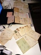 Quarantaine De Courriers, Lettre & Correspondance De Guerre 1937-1942 Cachets, Timbres, Censure, A. Hitler & Croix Gamée - Allemagne