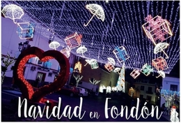 NAVIDAD EN FONDÓN. TARJETA PREFRANQUEADA ESPAÑA. TARIFA A. ENTERO POSTAL. Postcard Paid Postage. - Entiers Postaux