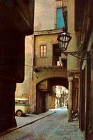 Postal Barcelona, Barrio De La Ribera , Años 60, Catalunya Cataluña , Arco Medieval, Ubach - Barcelona