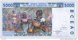 WEST AFRICAN STATES P. 713Kk 5000 F 2001 UNC - Senegal