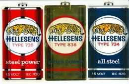 Hellesens -  Lot D'autocollants - Autres Collections