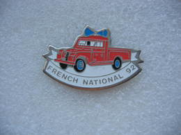 Pin's Pick-up Des Sapeurs Pompiers. French National 92 - Brandweerman