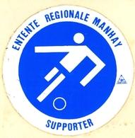 Manhay - Football - Autocollant - Andere Verzamelingen