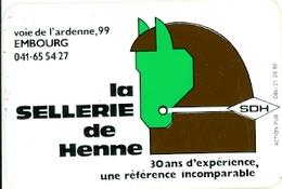Embourg - Sellerie De Henne - Autocollant - Andere Verzamelingen