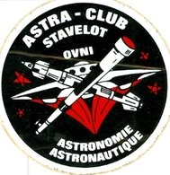 Stavelot - Astra Club - Autocollant - Andere Verzamelingen