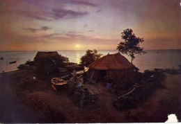 Lignano - Notturno Nel Villaggio I Pescatori - Formato Grande Viaggiata – E 15 - Udine