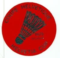 Wilrijk - Coupe Helvétique 1975 - Autocollant - Andere Verzamelingen