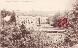 SPONTIN - Panorama - Vue Sur L'Hôtel Du Bocq - Yvoir
