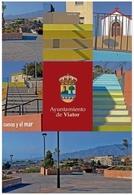 AYUNTAMIENTO DE VIATOR MULTIVISTAS. TARJETA PREFRANQUEADA ESPAÑA. TARIFA A. ENTERO POSTAL. Postcard Paid Postage. - Entiers Postaux