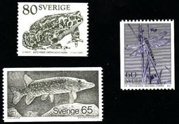 Suecia 1057/1059 ** MNH. 1979 - Nuovi