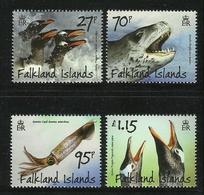 FALKLAND   ISLANDS   2011   PENGUINS  PREDATORS & PREY   SET  MNH - Non Classés