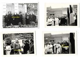 Ogy - Lessines ( 4 Photos Du Jubilé Du Curé Duhant En 1963 ) Photo Claes Lessines -Lepoivre Michel Curé De Deux-Acren - - Personnes Identifiées