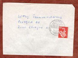 Brief, Roentgengeraet, SoSt Suessen, Nach Stuttgart 1979 (91021) - BRD