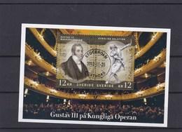 Suède BF ? O 2012 Gustav III - Blocks & Kleinbögen