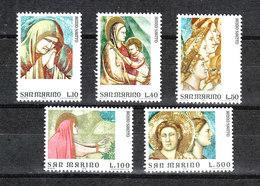 San Marino - 1975. Giotto, Cappella Scovegni A Padova. Complete MNH Series - Religione