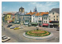 51 Châlons Sur Marne N77 Place République Graines Macquart Magasin Capriccia Menard Citroën DS 2CV Peugeot 404 Renault 4 - Châlons-sur-Marne