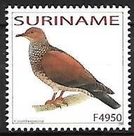 SURINAME - MNH 2003 :     Scaled Pigeon  -  Patagioenas Speciosa - Tauben & Flughühner