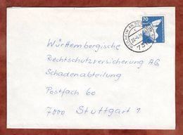 Brief, Schiffbau, Weilheim An Der Teck Nach Stuttgart 1979 (91023) - BRD