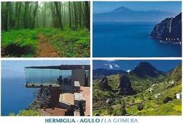 HERMIGUA-AGULO (LA GOMERA) CON BARRAS. TARJETA PREFRANQUEADA ESPAÑA. TARIFA A Y B. ENTERO POSTAL. Postcard Paid Postage. - Entiers Postaux