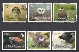 FALKLAND  ISLANDS  2016  BIRDS OF PREY -OWLS,EAGLES -  SET   MNH - Non Classés