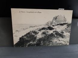 LA PANNE Vue Generale De La Plage Obl 1908 - De Panne
