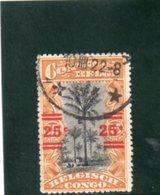 CONGO BELGE 1921 O - Congo Belge