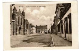 Aarsele - Gemeenteplaats En Kerk (Zuid)  - Uitg. Gezusters Carpentier - 2 Scans - Tielt